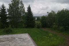 Вид на озеро с балкона 2 этажа, 3 сектор